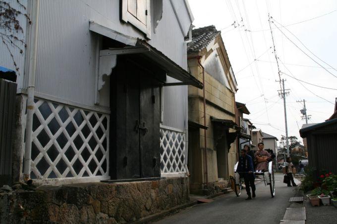 小京都の町並み(写真提供:森町)