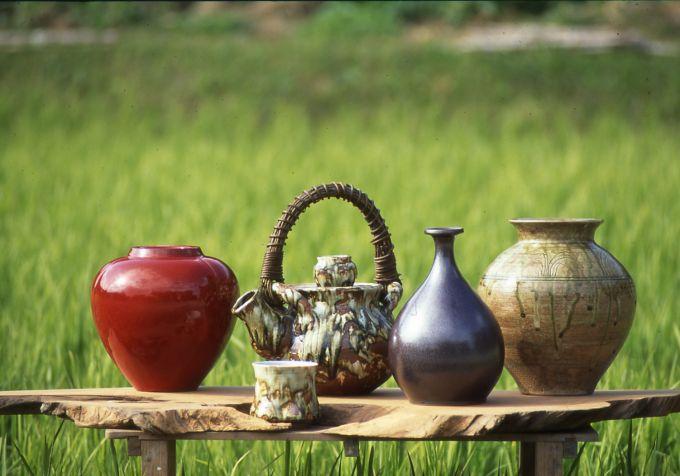 陶芸の里・森山焼(写真提供:森町)