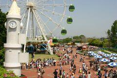 乗り物や遊具がいっぱいの碧南市明石公園(写真提供:碧南市)