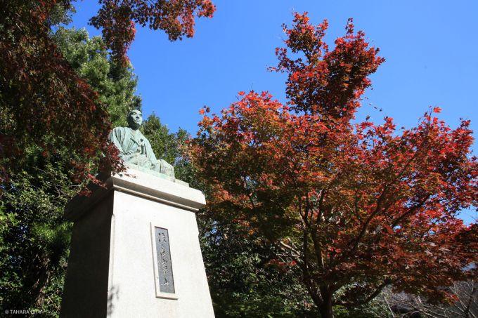 渡辺崋山像(写真提供:田原市)