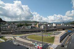 土肥恋人岬から望む富士山