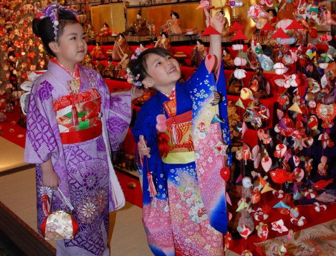 稲取の雛のつるし飾り(写真提供:東伊豆町)