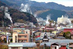湯煙が漂う下賀茂温泉(写真提供:南伊豆町)