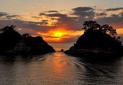 心にしみる夕日の風景(写真提供:西伊豆町)