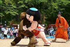 毎年恒例!金太郎相撲(写真提供:小山町)