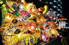 天下の奇祭と呼ばれる夏祭り「万燈祭」(写真提供:刈谷市)