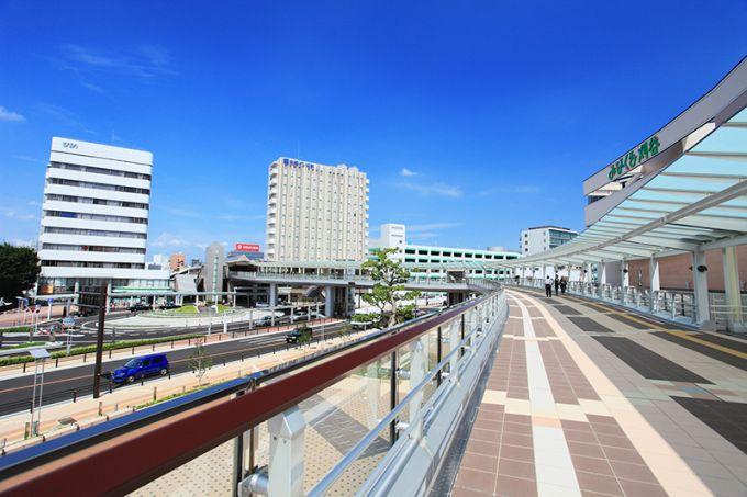 刈谷駅の南口に広がる「みなくる刈谷」(写真提供:刈谷市)