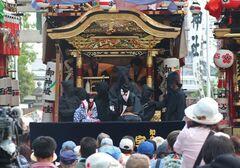 伝統ある山車文楽(写真提供:知立市)