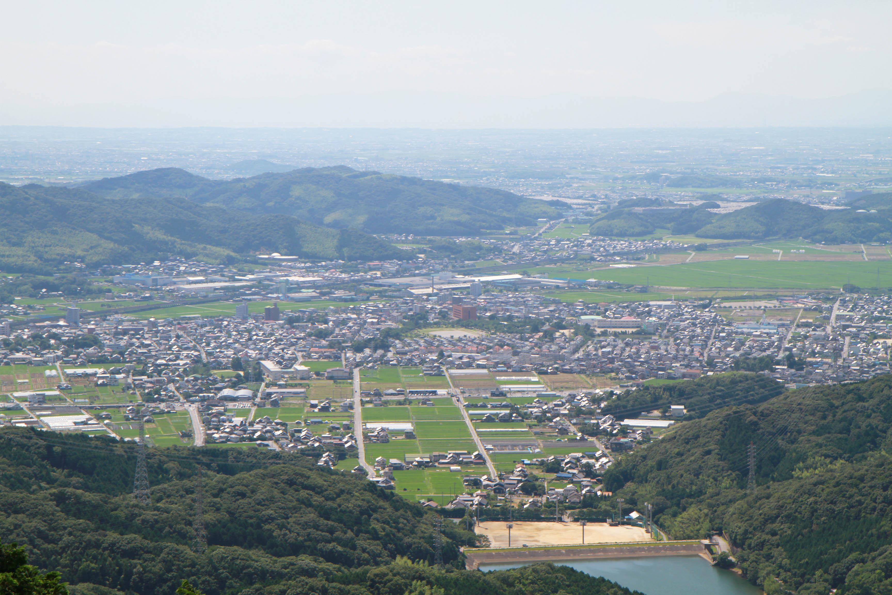 幸田町全景