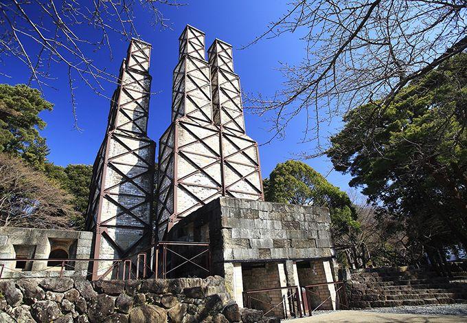 国指定史跡・韮山反射炉は、炉体と煙突が完全な形で現存する世界唯一の産業遺産