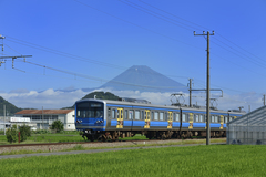 市内を走る伊豆箱根鉄道駿豆線