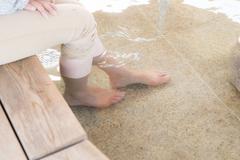 市内に点在する無料の足湯(日帰り温泉も有り)