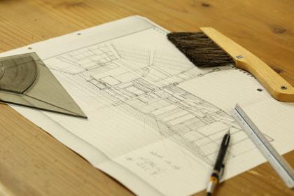 ラフとスケッチ、そして設計図