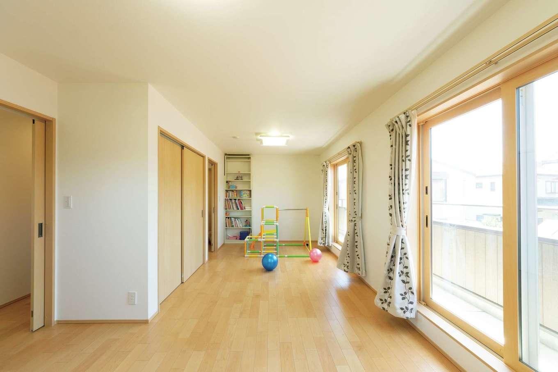子ども部屋は成長に合わせて個室にすることもできる