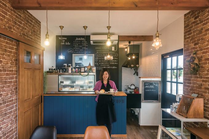 """""""好き""""を集めたお気に入りの自宅で 手づくりスイーツのカフェをオープン"""