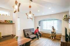 一階全面床暖房&充実収納 家事も子育ても楽しむ家