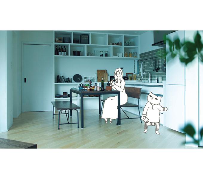 キッシュ『あの家』のイメージ