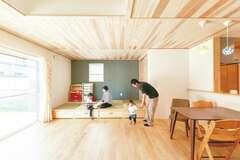 家の中が散らからない!隠す収納と便利な動線
