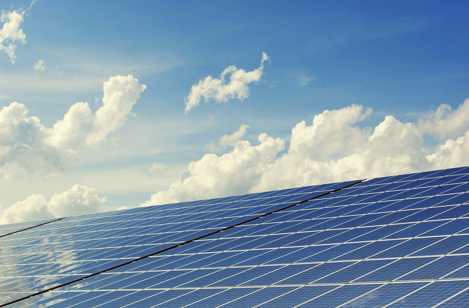 太陽光発電のメリットのイメージ