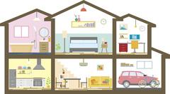 家づくりのスタートはカウンターへ!のイメージ
