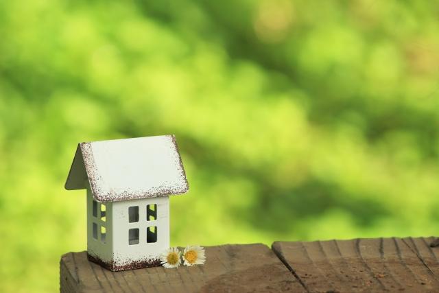 四角い家のイメージ