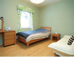 北欧住宅の宿泊体験ハウス!