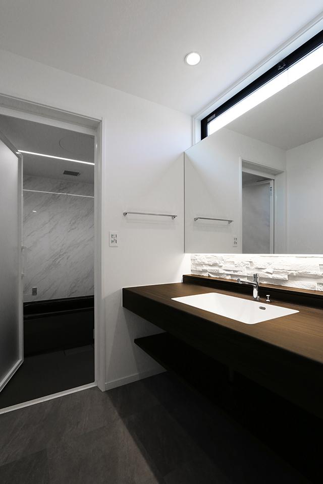 ホテルライクな洗面