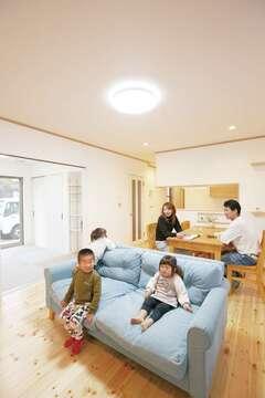 予算内で自然素材の家が叶い、嬉しいです!