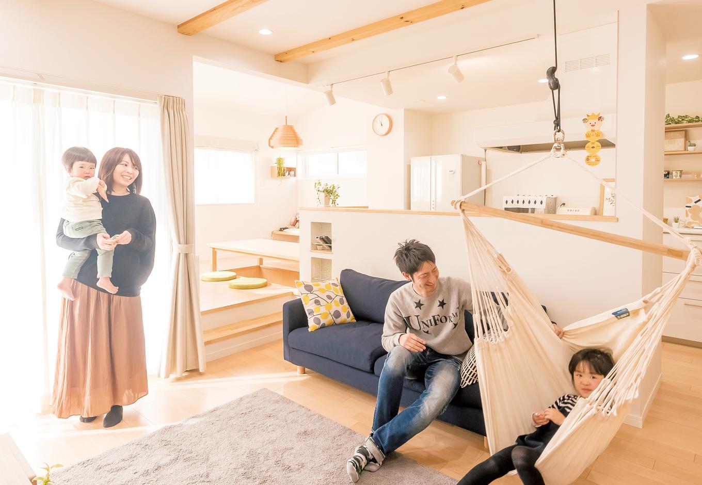 芹工務店   シンプルな家事動線が生みだす 家族の笑顔と愛しい時間