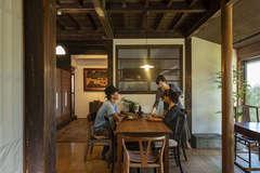 懐かしさと新しさが同居する古民家ギャラリー&カフェ