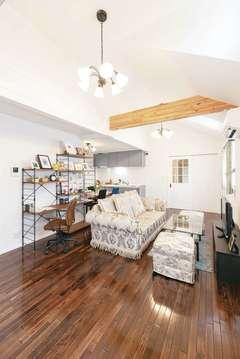 """高品質の輸入住宅が提案する """"平屋""""というゆとりある暮らし"""