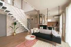 最適な収納計画と家事動線を追求 35坪の等身大モデルハウス