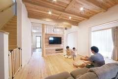 自然素材×全館空調で 快適すぎる「雨楽な家」