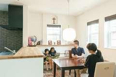 家族の時間を生む 手段としての家事ラク動線