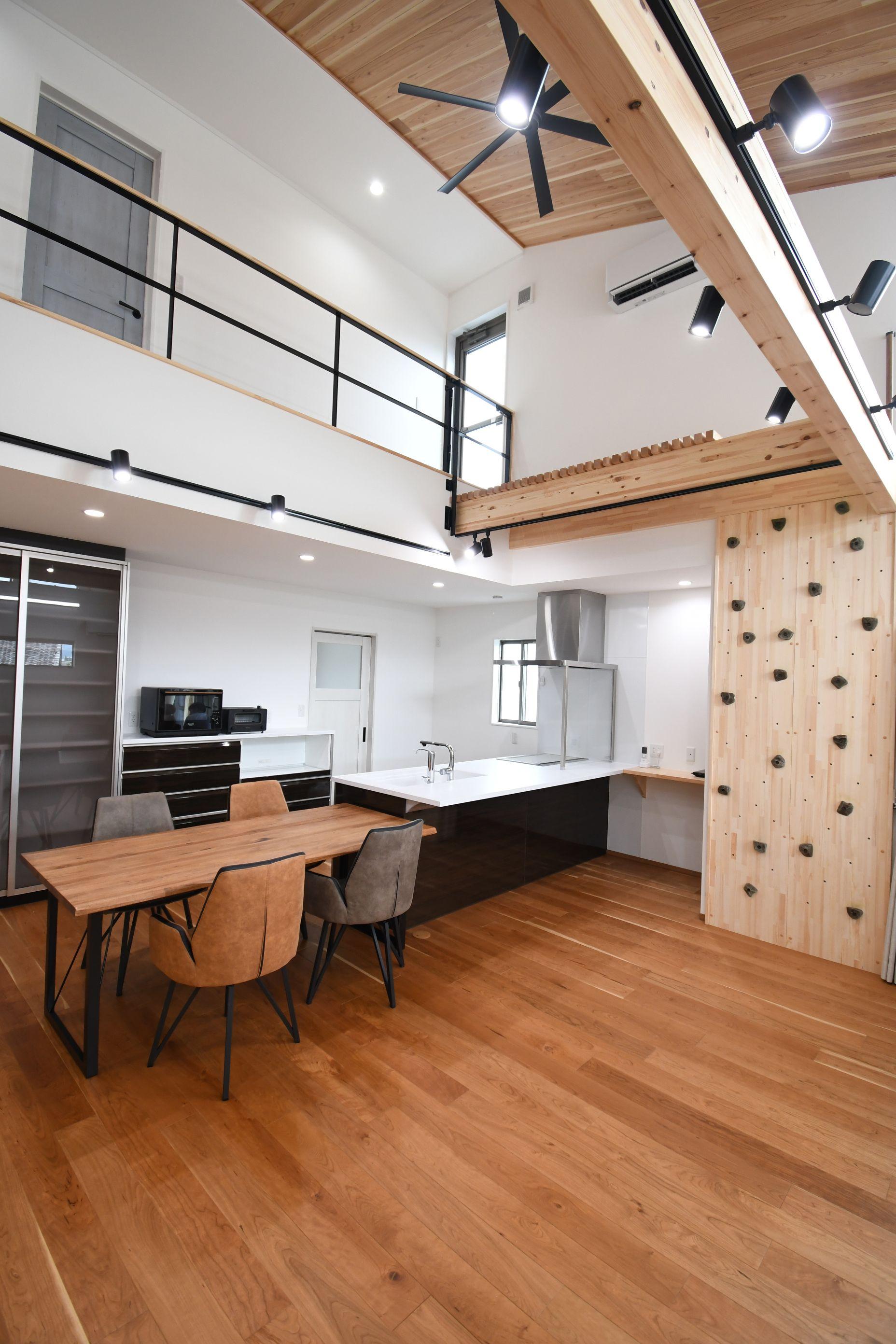 丸七建設興業【デザイン住宅、高級住宅、間取り】使い勝手の良いキッチン