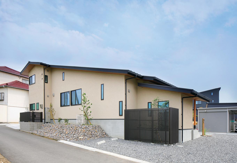 檜建設 エニーホーム【デザイン住宅、趣味、建築家】土地やまわりの風景を最大限に生かしたつくり