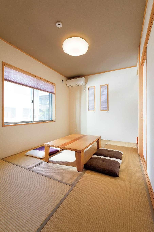 旭建設【富士市浅間本町2-36・モデルハウス】和室は客間やゲストの寝室にも