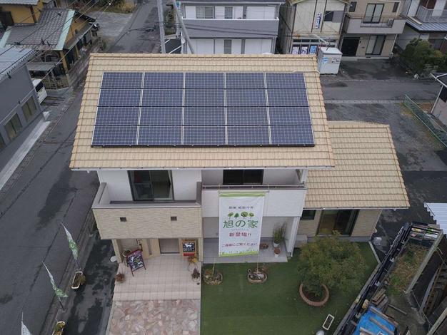 環境と家庭にやさしい快適な暮らし。ZEH標準仕様の「旭の家 ZERO」