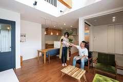夏も冬も家中快適な暮らしと個性を両立した全館空調の家