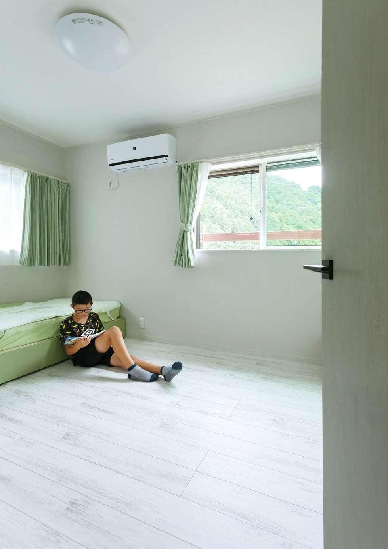 ほっと住まいる|明るく快適な空間と自然素材の効果で、子どもの喘息が治ったそう