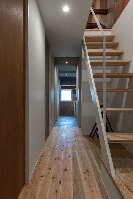 建杜 KENT(大栄工業)|ロフトに続く階段下は収納としても活用可能