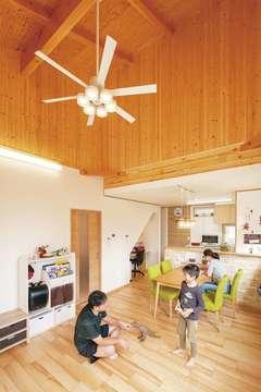 光熱費80%カットに成功! 満足度120%の別荘風の家