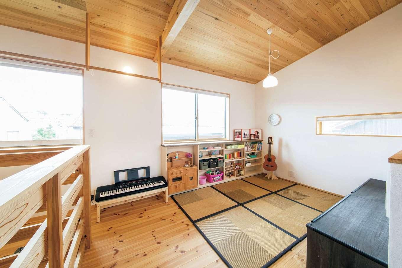 2階フリースペースは将来的に子ども部屋にすることも可能
