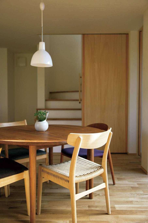 家だけでなく家具や照明までトータルにコーディネートする