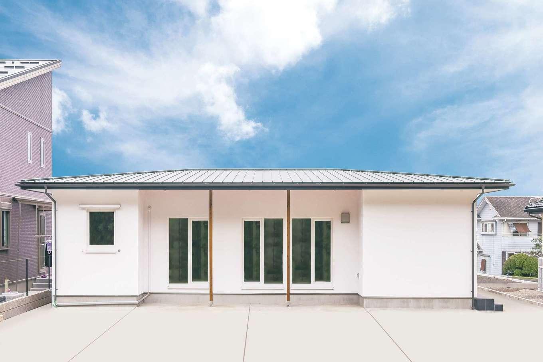 低燃費住宅 静岡(TK武田建築)【子育て、省エネ、平屋】安定感のある平屋は地震にも強い