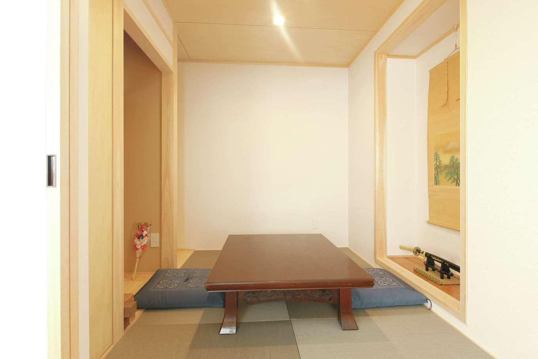 内田建設|床の間、仏間を備えた本格和室