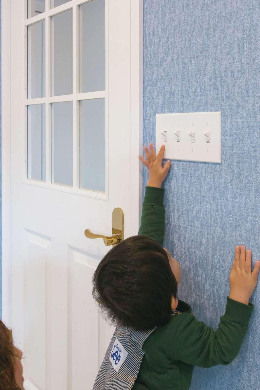 セルコホーム浜松(オバタケイ)【輸入住宅、趣味、インテリア】室内の照明スイッチにはすべてアメリカンスイッチを採用