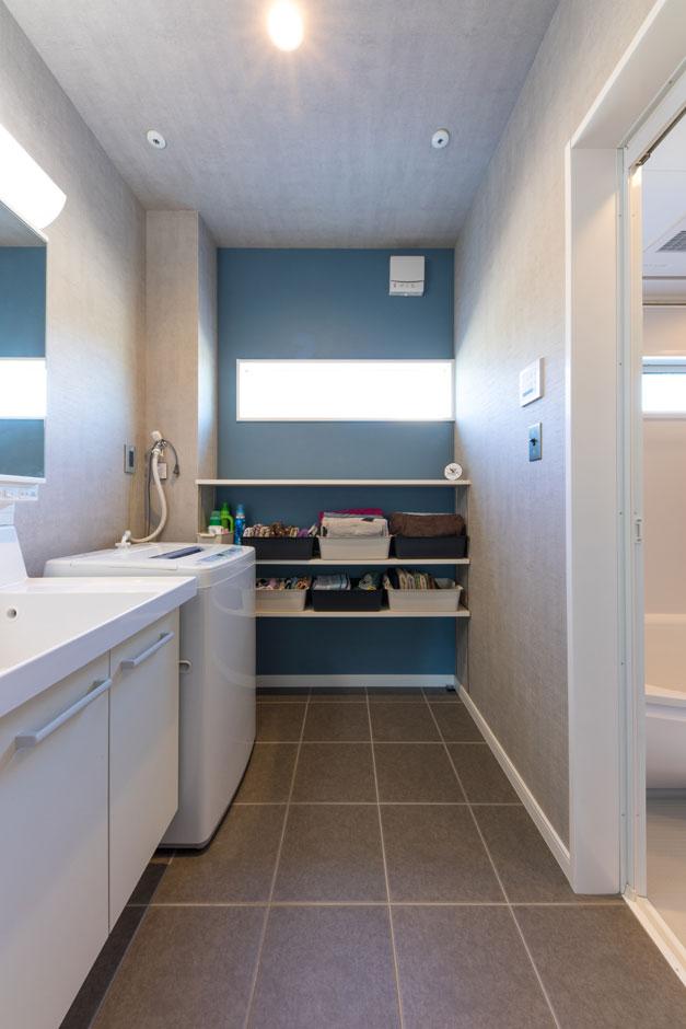 1階全面床暖房が標準仕様の同社。冬場のお風呂上りもポカポカ快適