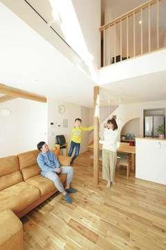 子どもの健やかな未来を守る コンパクトでも豊かに暮らせる家