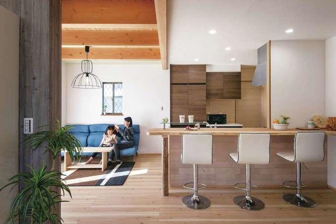 延床28坪のコンパクトな家に 18畳の広々LDKを実現!